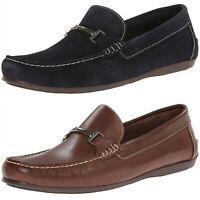 Men's Florsheim Jasper Slip On Premium Leather Suede Slip On Casual Loafer Shoes