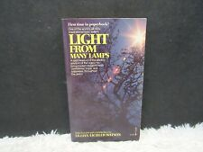 Vintage 1976 Light From Many Lamps by Lillian Eichler Watson Paperback Book
