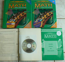 Prentice Hall Middle Grades Math,Course 3,Tools for Success,TE,Text,CD Tests,Wkb