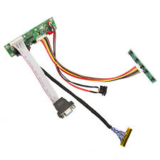 """Universal LCD LVDS VGA Monitor Controller Driver Board Kit 1900x1200 12"""" to 42"""""""