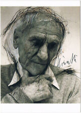Bernhard Minetti 1905-98 signed Art postcard photo, 4x6 inch