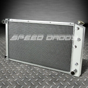 FOR 68-76 CHEVY CHEVELLE/CAPRICE 3-ROW ALUMINUM CORE RACING COOLING RADIATOR