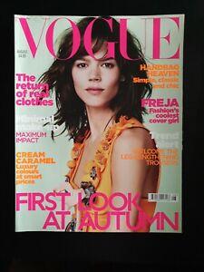 Vogue Magazine August 2010 (288) Freja Beha Erichsen Cover