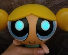 "Powerpuff Girls Talking BUBBLES 9"" Plush Toy Doll 1999 Trendmasters"