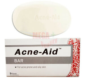 STIEFEL ACNE AID SOAP BAR DEEP PORE CLEANSING PIMPLE OILY SKIN FACE AID 100 G.