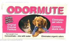 Odormute non-poisonous Pet Odor Eliminator Original Enzime Formula 3oz