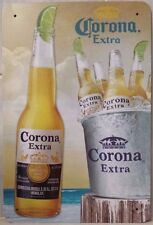 CORONA BEER Vintage Retro Metal Tin Sign Plaque Garage Bar Pub ManCave- Home