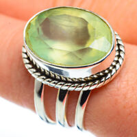 Prehnite 925 Sterling Silver Ring Size 9.25 Ana Co Jewelry R45551F