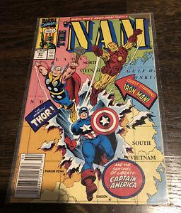 THE 'NAM MARVEL COMICS #41 1986 Captain America Iron Man Thor