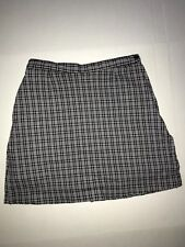 AW GOLF SKORTS by Allyson Whitmore Stretch Black and white plaid size 8