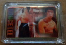 Bruce Lee      24K GOLD  PLATED 40 mm x 28m   COIN   bar