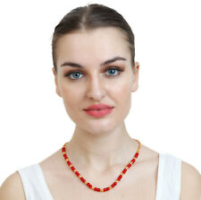 Handcrafted Faux Pearls Necklace Ch061 Indian Copper Metal 22K Gold Plated