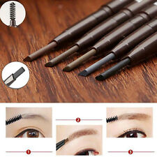 New Waterproof Cosmetic Tool Makeup Eye Brow Pen Eyebrow Liner Pencil With Brush