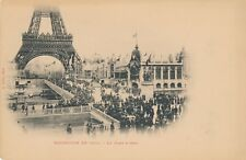 1900 Paris Exposition Le Pont d'Iena Bridge of Jena – udb