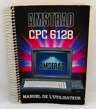 MANUEL de l'utilisateur pour ordinateur AMSTRAD CPC 6128