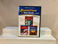 America, History Of Our Nation C2009 Examview Computer Test Bank CD-ROM