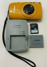 Canon PowerShot SD4000 IS 10MP Digital Camera (IXUS 300 HS / IXY 30S)  - Yellow