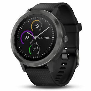 Garmin Vivoactive 3 GPS Fitness Smartwatch Tracker Black & Gunmetal 010-01769-11
