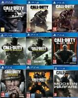 Call Of Duty PS4 Assorted Game PICK ONE OR BUNDLE UP MINT Super Fast Delivery