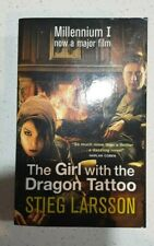 THE GIRL WITH THE DRAGON TATTOO by STIEG LARSSON Book #1 Millennium Trilogy
