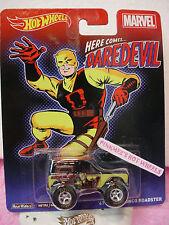 2014 Marvel Hot Wheels '67 Ford Bronco Roadster💫Black∞Dared evil∞Pop Culture☆