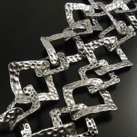 4M Silver Tone Brass Knot Shaped Unfinished Chain Necklace Finding Hot Sales