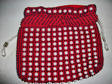 RED DRAWSTRING CARRY BAG for 7 inch Tablet, Cosmetics, Purse NWOT