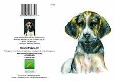 Greeting cards Hound Puppy Art