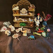 A Great Lot Dollhouse Miniature Vintage 30 Items
