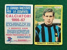 CALCIATORI 1966/67 66/1967 INTER Renato CAPPELLINI Figurina Sticker Panini (NEW)