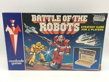 Battle Of The Robots Strategy Game / Battleship Toy ZODIAC TOYS Cavalcade Games