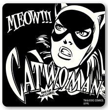 Catwoman (Batman) single cork-backed drinks coaster (lsh)