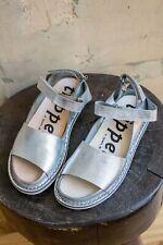 Trippen Fez Sandal In Metallic Silver