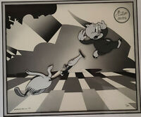 Warner Brothers LE Cel 1991-Woo-Woo- Porky Pig and Do-Do Bird #1/500