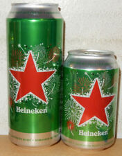 2 HEINEKEN CHISTMAS cans 2018 Edition from HOLLAND (33cl and 50cl)