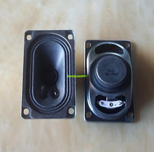 2pcs 90*50*28MM 4ohm 5W Full-range speaker for TV/game console