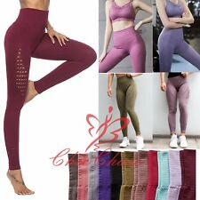 Women's Energy Seamless Gym Leggings Yoga Running Training Fitness Sportswear