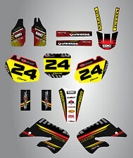 Honda CR 250  - 1998 - 1999 Full  Custom Graphic  Kit -FACTORY STYLE stickers