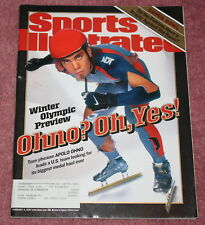 SPORTS ILLUSTRATED - 2/4/02 - APOLO OHNO COVER, WINTER OLYMPIC PREVIEW