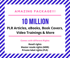 10 Million Mrr-Plr-Rr-Ebooks-Article s-Training-Videos and More