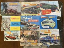 Tri-ang Hornby Vintage Catalogue Lot Model railways