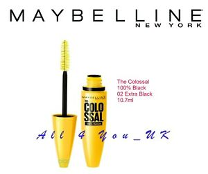 Maybelline The Colossal Mascara 100% Black- 02 Extra Black 10.7ml