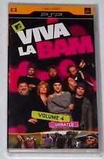 SONY PSP UMD MTV'S VIVA LA BAM VOLUME 4 - BRAND NEW FACTORY SEALED!!