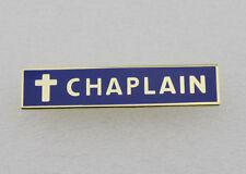 Chaplain Police Citation Certification Merit Award Commendation Bar Lapel Pin