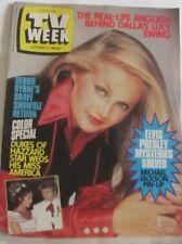 TV Week September 3 1983 Michael Jackson Pin Up, Debbie Byrne, Dukes of Hazzard