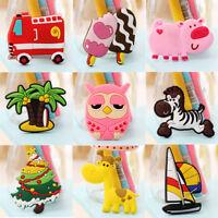3PCS Home Refrigerator Cartoon Animal Magnet Sticker Magnetic Cute Fridge Decor