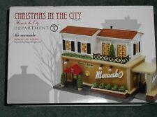 Dept 56 Christmas In The City Village The Macambo Nib *Still Sealed*