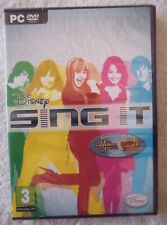 45166 - Disney Sing It [NEW & SEALED] - PC (2008) Windows XP