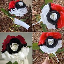 100X Pokemon Black Pearl Rose Flower Seeds Rare Rosa Plant Outdoor Bonsai Seeds