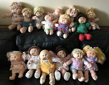 Lot of 15 Vintage Cabage Patch Kid Doll Mixed Collection Toys Baby Infant